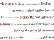 phrasal verbs exercise