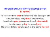 14 information verbs BLOG-1 option